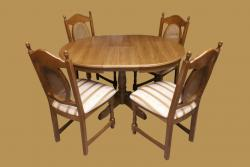 Kerek Európa 90 bőv. étk.garn. 4 székkel - AKCIÓS!