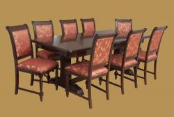 Mária ll. étkező grn. 8 székkel