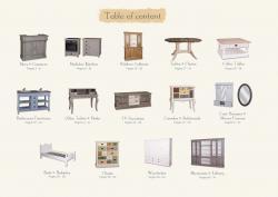 Festett fenyőbútorok VÁLASZTÉKA bútortípusok és bútorcsaládok szerint