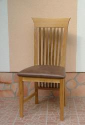 Stocholm szék bőr kárpittal